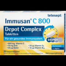 TETESEPT IMMUSAN C800 DEPOT COMPLEX TABLETTA