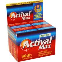 BÉRES ACTIVAL MAX MULTIVITAMIN 30 DB