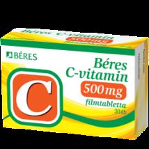 BÉRES C-VITAMIN 500 MG TABLETTA 90 DB