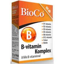 BIOCO B-VITAMIN KOMPLEX FORTE TABLETTA