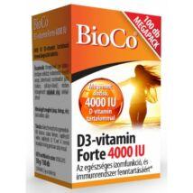 BIOCO D3-VITAMIN FORTE TABLETTA