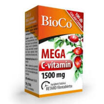 BIOCO MEGA C-VITAMIN 1500 MG FILMTABLETTA