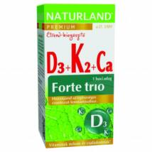 NATURLAND D3 + K2 + KÁLCIUM FORTE TRIÓ TABLETTA