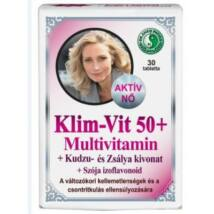 DR. CHEN KLIM-VIT 50+ MULTIVITAMIN TABLETTA