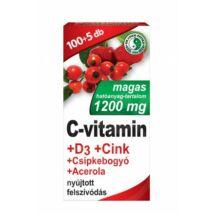 DR. CHEN C-VITAMIN + D3 + CINK + ACEROLA + CSIPKEBOGYÓ