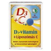 DR. CHEN D3 + LIPOSZÓMÁS C-VITAMIN KAPSZULA