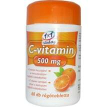 1x1 VITADAY C-VITAMIN 500 MG RÁGÓTABLETTA