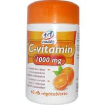 1x1 VITADAY C-VITAMIN 1000 MG RÁGÓTABLETTA