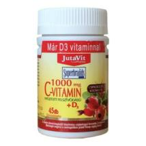 JUTAVIT C-VITAMIN + D3 1000 MG TABLETTA 45 DB