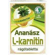 DR. CHEN ANANÁSZ RÁGÓTABLETTA L-KARNITINNEL
