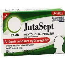 JUTAVIT JUTASEPT SZOPOGATÓ TABLETTA MENT-EUK