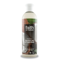 FAITH IN NATURE TUSFÜRDŐ KÓKUSZ 400 ML
