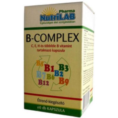 NUTRILAB B-COMPLEX KAPSZULA