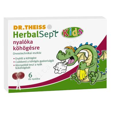 DR. THEISS HERBALSEPT KIDS NYALÓKA 6 DB