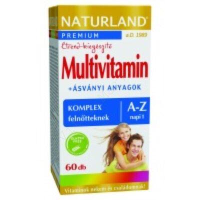NATURLAND MULTIVITAMIN A-Z TABLETTA