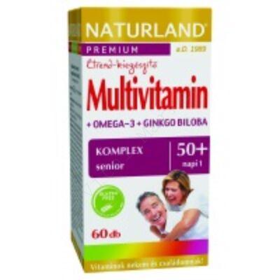 NATURLAND MULTIVITAMIN 50+ KAPSZULA