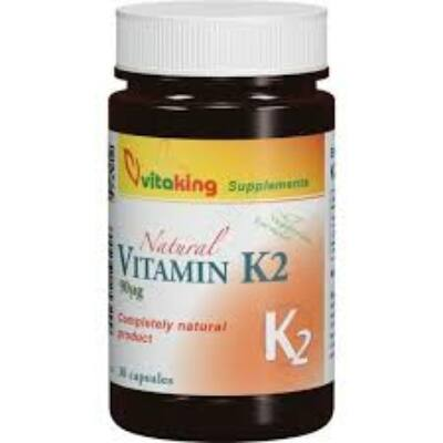 VITAKING K2 VITAMIN KAPSZULA 30 DB