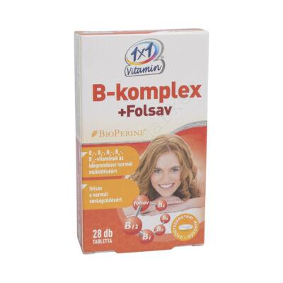 1X1 VITAMIN B-KOMPLEX + FOLSAV TABLETTA