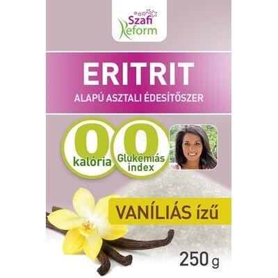 SZAFI FITT ERITRITOL VANÍLIÁS 250 G