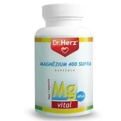 DR. HERZ MAGNÉZIUM 400 SUPRA KAPSZULA