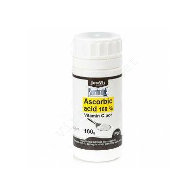 JUTAVIT ASCORBIC ACID 100 % C-VITAMIN POR