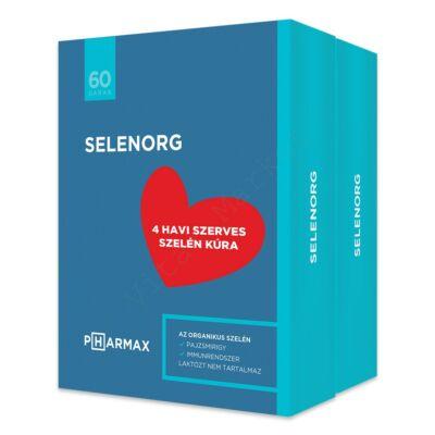 PHARMAX SELENORG TABLETTA 2X60DB